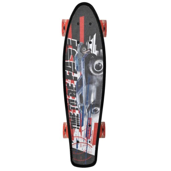 move fast and furious penny board met lichtjes