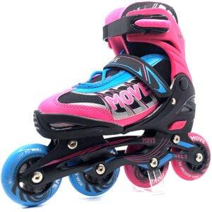 move inline skates meisjes roze