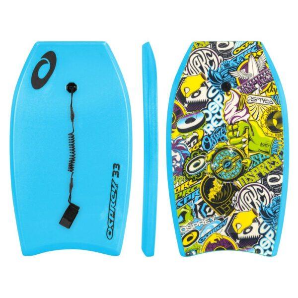osprey bodyboard sticker 33 blauw