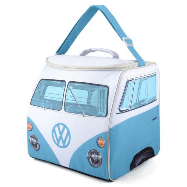 vw replica t1 bus camper koeltas blauw