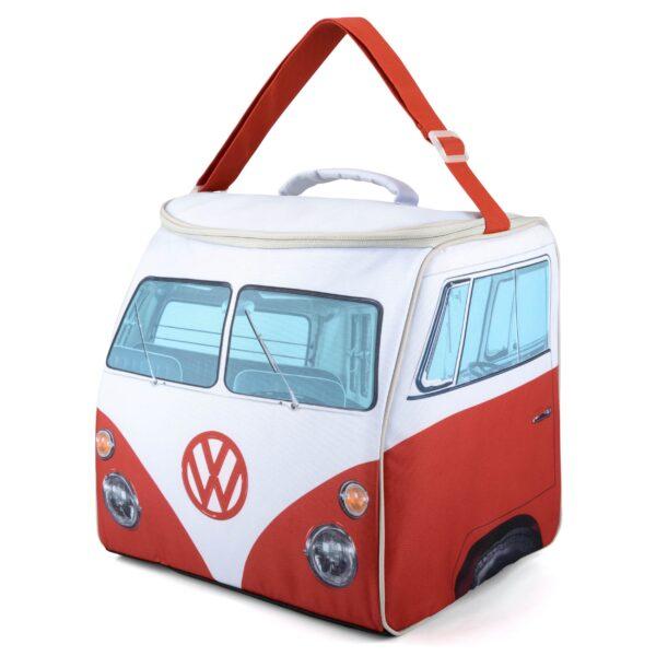 vw replica t1 bus camper koeltas rood