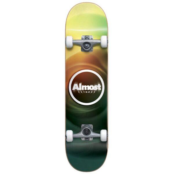 almost blur resin complete skateboard 7.75