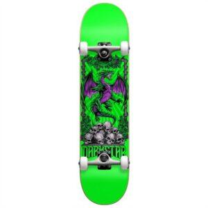 darkstar levitate first push skateboard soft wheels complete 8.0