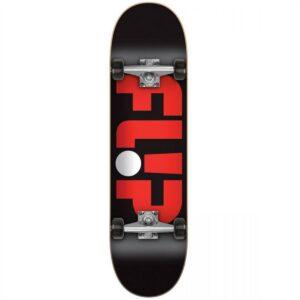 flip odyssey logo complete skateboard zwart 8.0