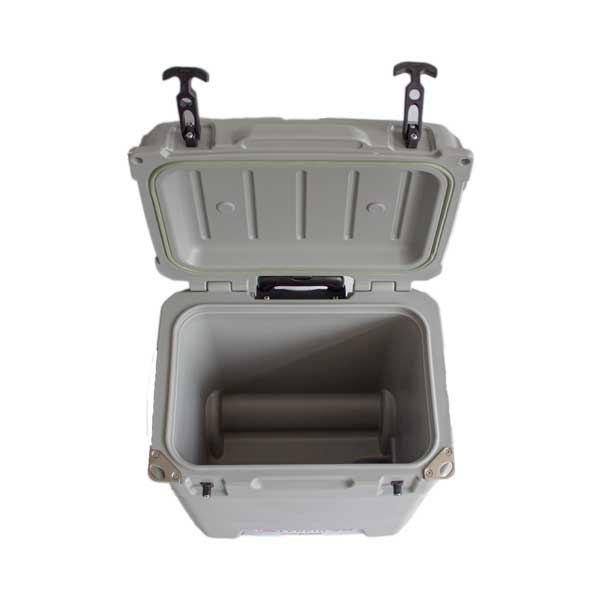 lerpin 45l koelbox wheely grijs