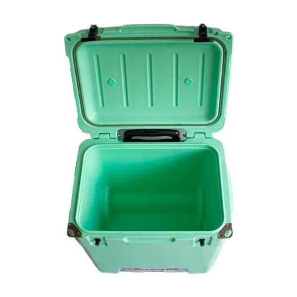 lerpin 45l koelbox wheely groen