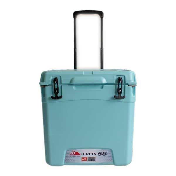 lerpin koelbox 65l wheely cooler blauw