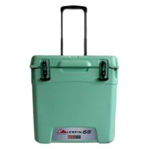 lerpin koelbox 65l wheely cooler groen