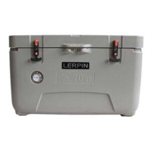 lerpin koelbox 70qt cooler grijs