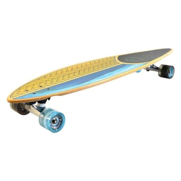 longboard kryptonics maple pintail weaved