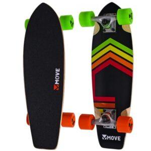 move cruiser neon skateboard