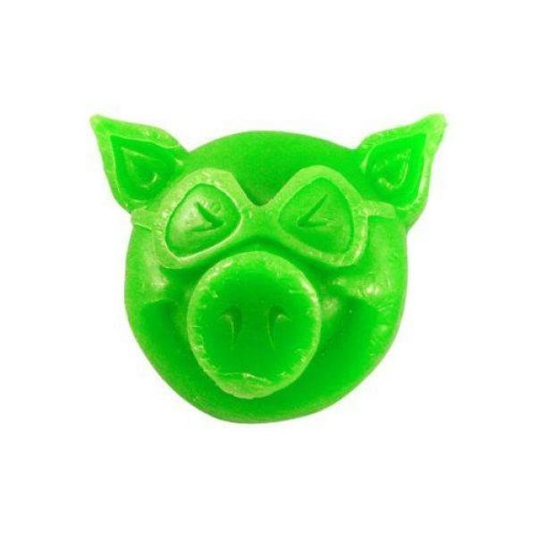 pig new head wax groen