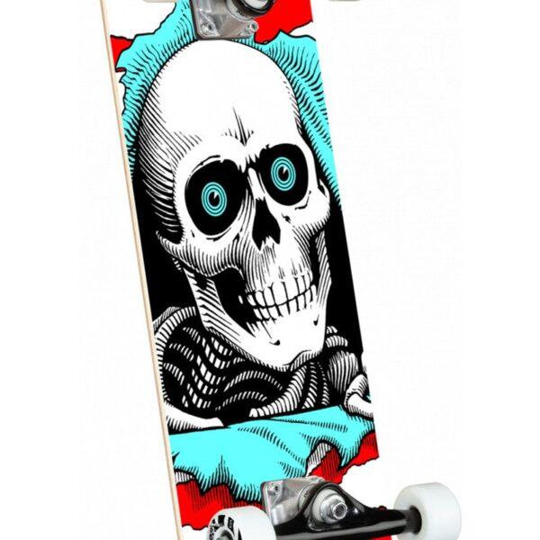 power peralta ripper complete skateboard shape 242 red 8.0