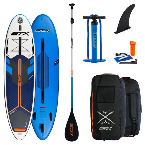 stx isup freeride 10'4 blauw/oranje