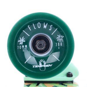 tempish flow longboard wielen