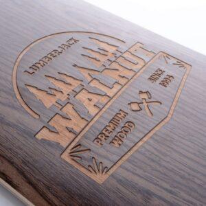 tempish longboard walnut hout deck