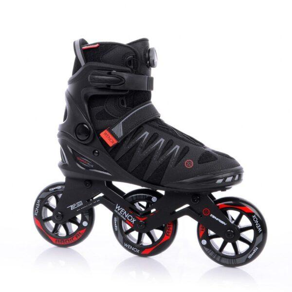tempish skeelers wenox top 100 zwart rood kopen