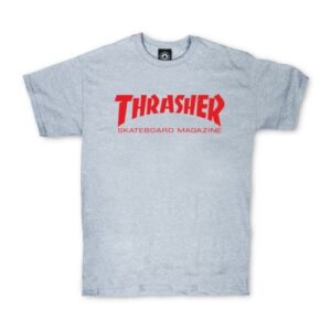 thrasher skate mag t-shirt grijs