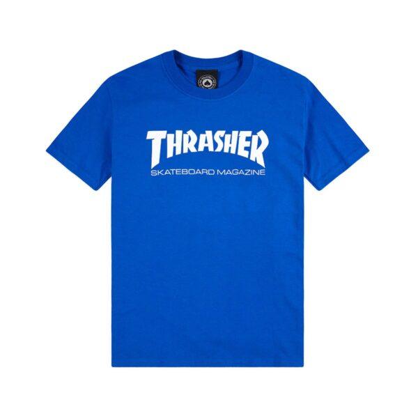 thrasher skate mag t-shirt royal