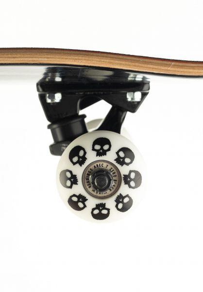 zero skateboards compleet thomas og cross zwart wit