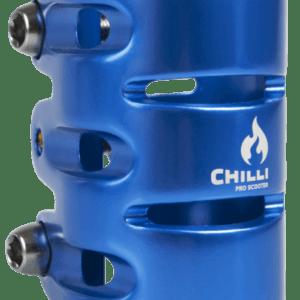 chilli clamp hic 3 bolt blauw