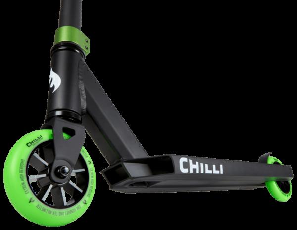 chilli pro base stuntstep wielen groen