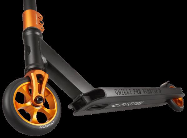 chilli pro reaper reloaded stuntstep wielen oranje