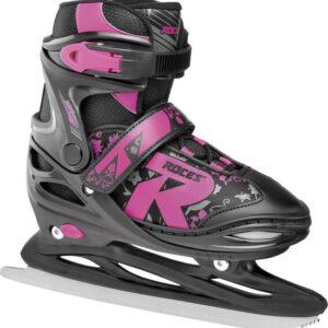 roces kinder ijshockeyschaats jockey ice 3.0 zwart roze