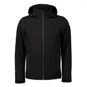 icepeak brimfield heren softshell jas zwart