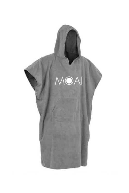 moai poncho grijs