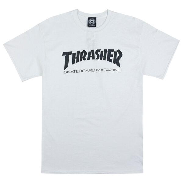 thrasher skate mag t-shirt wit