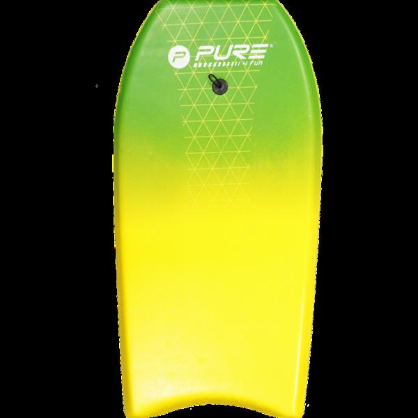 bodyboard geel groen
