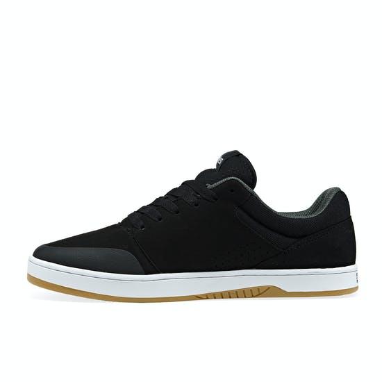 etnies skate schoenen zwart wit